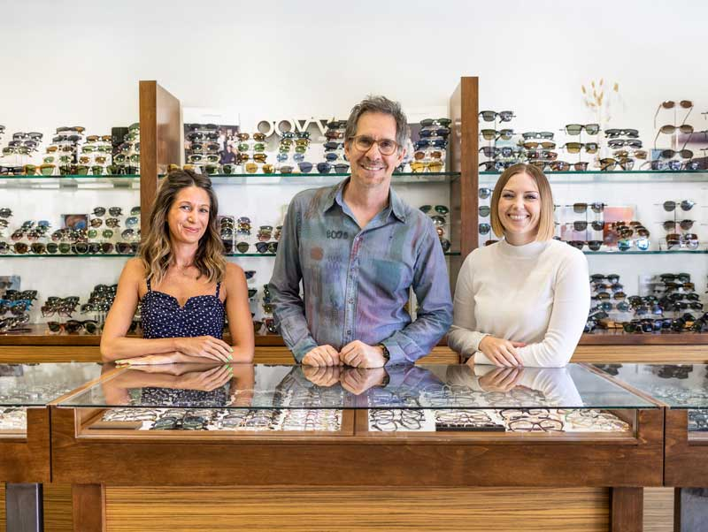 JoAnn, Scott, and Lexi - Marc Michel Eyewear