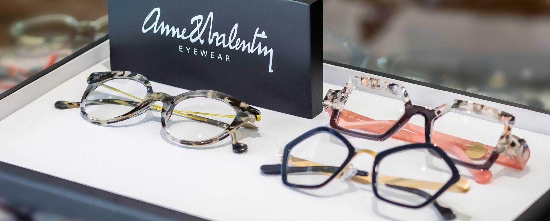 Anne & Valentin eyewear