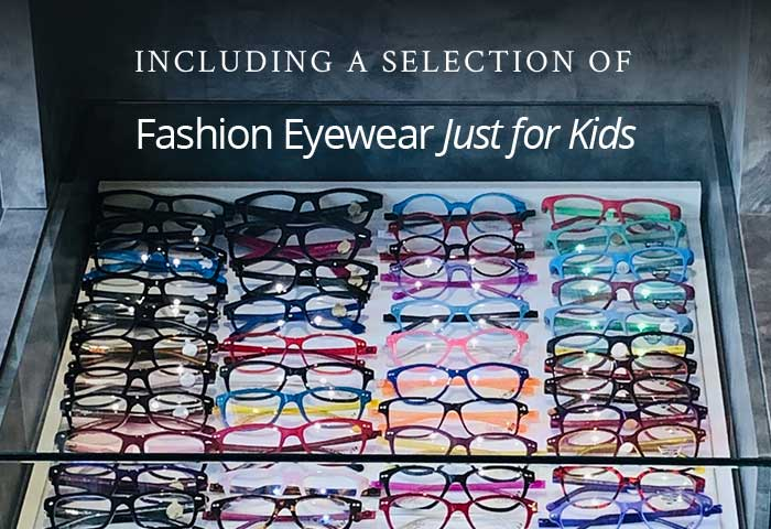Kids fashion eyewear